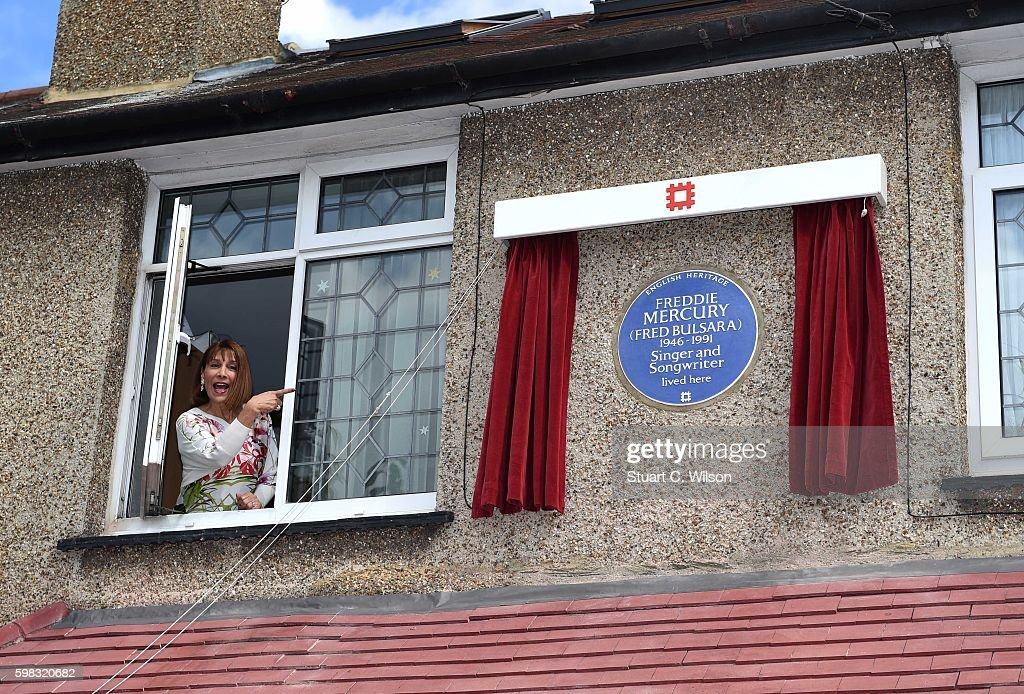 Unveiling Of English Heritage Plaque To Freddie Mercury : News Photo