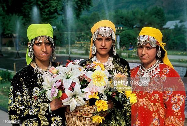 Kashmiri girls Jammu and Kashmir India