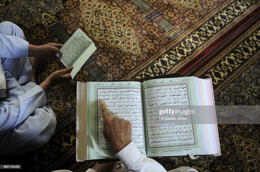 Muslims Observe Ramadan In Kashmir