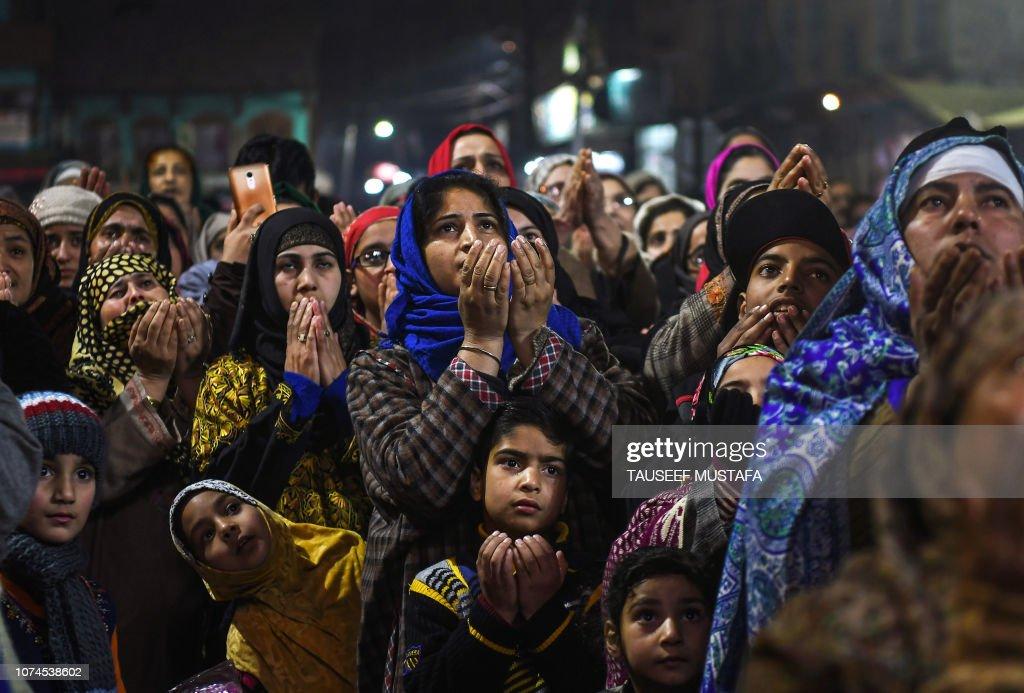 INDIA-KASHMIR-RELIGION : News Photo