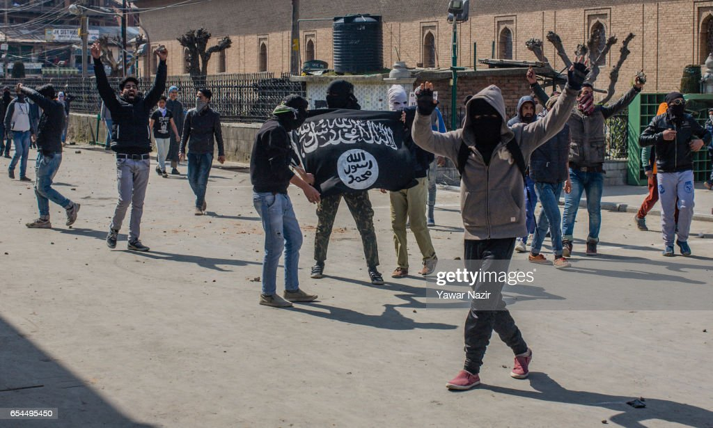 Protests In Kashmir Over Recent Civilian Killings : News Photo