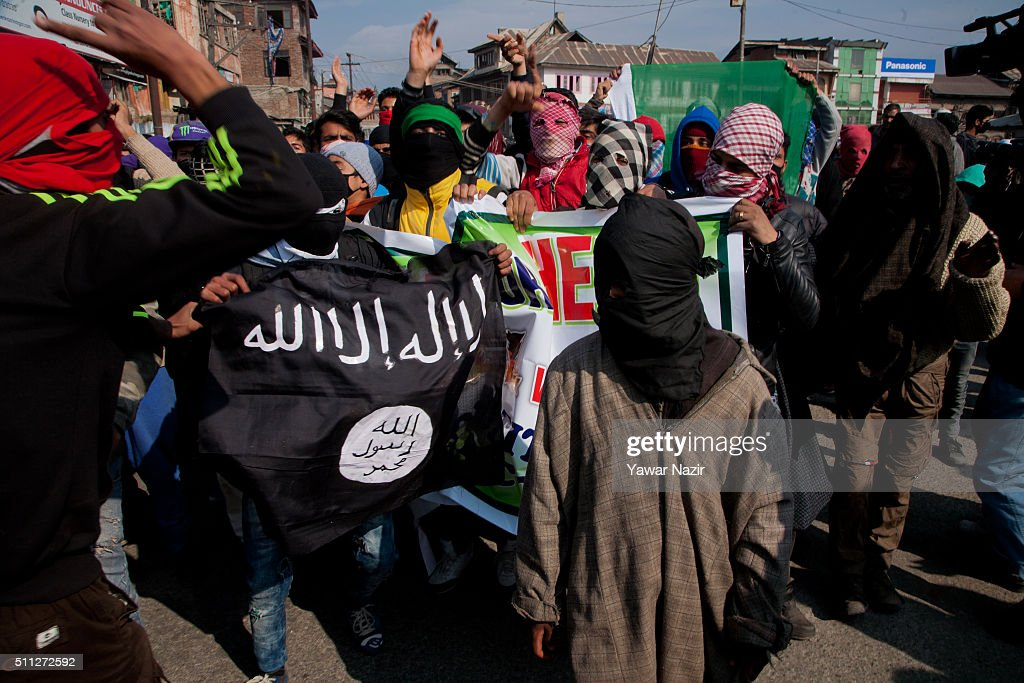 Anti India Protest In Kashmir : News Photo