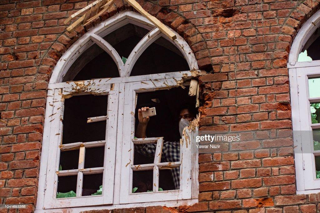 Civilian Among Five Killed In Kashmir : News Photo