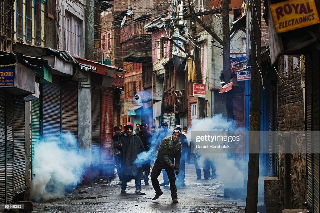 Kashmir Protests Fueled By Death Of Second Teenager In A Week : News Photo