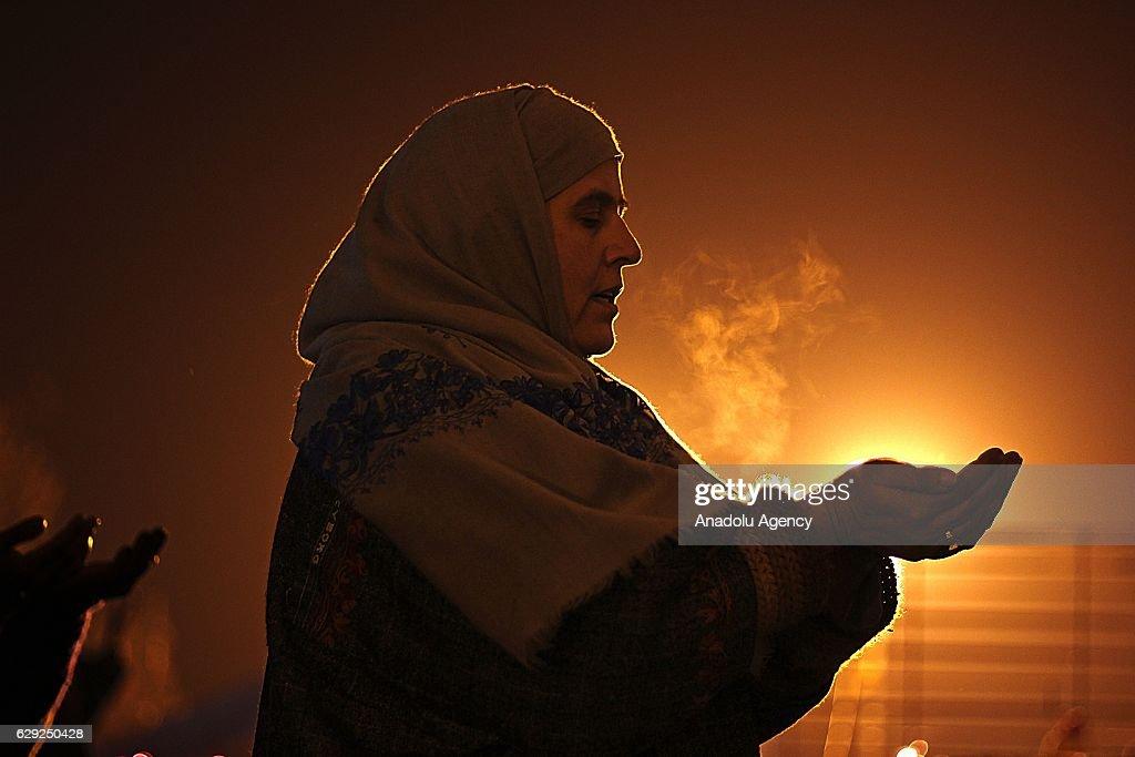Mawlid al Nabi celebrations in Kashmir : Nachrichtenfoto