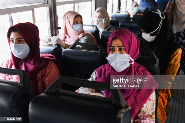Kashmiri students, who were studying in a medical college in Pakistan and quarantined for 14 days following their return to India as a preventive...