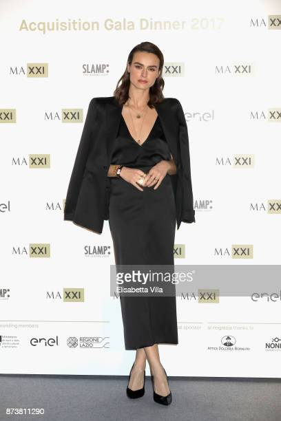Kasia Smutniak attends MAXXI Acquisition Gala Dinner 2017 at Maxxi on November 13 2017 in Rome Italy