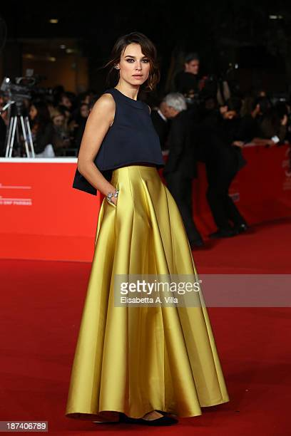 Kasia Smutniak attends the Opening Ceremony and 'L'Ultima Ruota Del Carro' Premiere during The 8th Rome Film Festival on November 8 2013 in Rome Italy