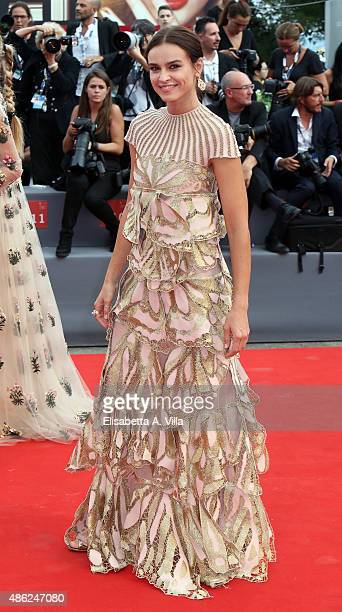 Kasia Smutniak attends the opening ceremony and premiere of 'Everest' during the 72nd Venice Film Festival on September 2 2015 in Venice Italy