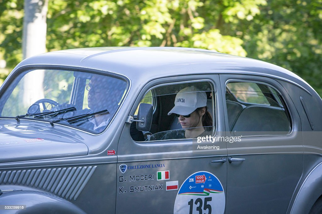 Mille Miglia 2016 - 1000 Miles Historic Road Race - Bologna Stage : News Photo