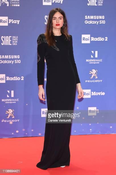 Kasia Smutniak walks a red carpet ahead of the 64 David Di Donatello awards ceremony Red Carpet on March 27 2019 in Rome Italy