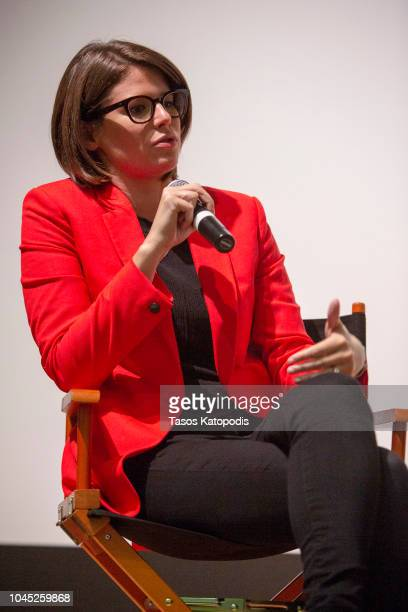 Kasie Hunt of NBC News attends the DC Special Screening Of THE FRONT RUNNER at the Smithsonian National Museum of American History on October 3 2018...