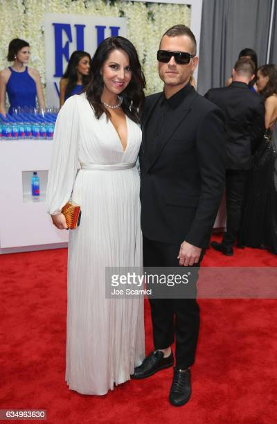 Kaskade and Naomi Raddon at The 59th Annual GRAMMY Awards at STAPLES Center on February 12 2017 in Los Angeles California
