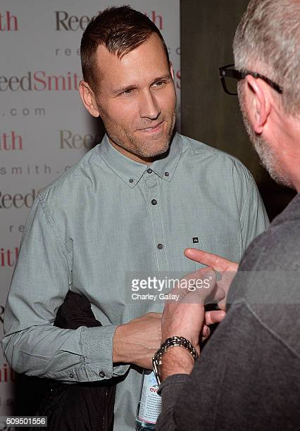 Kaskade attends the Reed Smith GRAMMY Party at The Sayers Club on February 10 2016 in Hollywood California