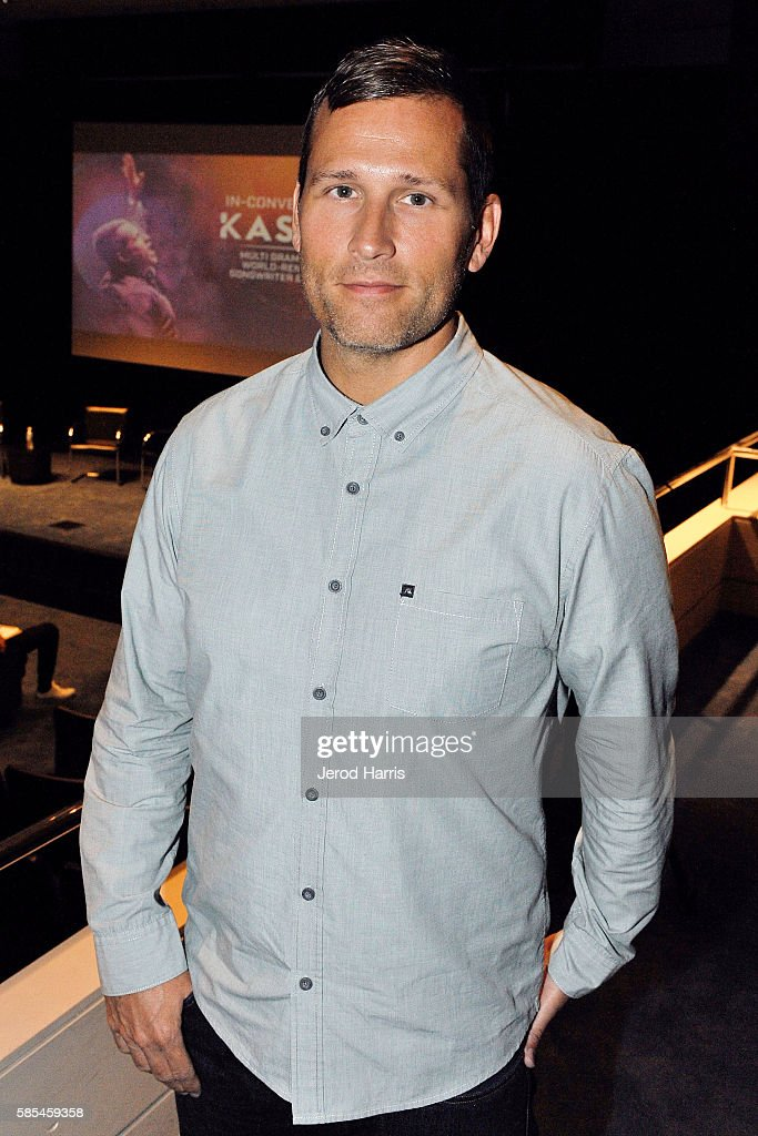 Kaskade attends the WORLDZ Conference at Skirball Cultural Center on August 2, 2016 in Los Angeles, California.