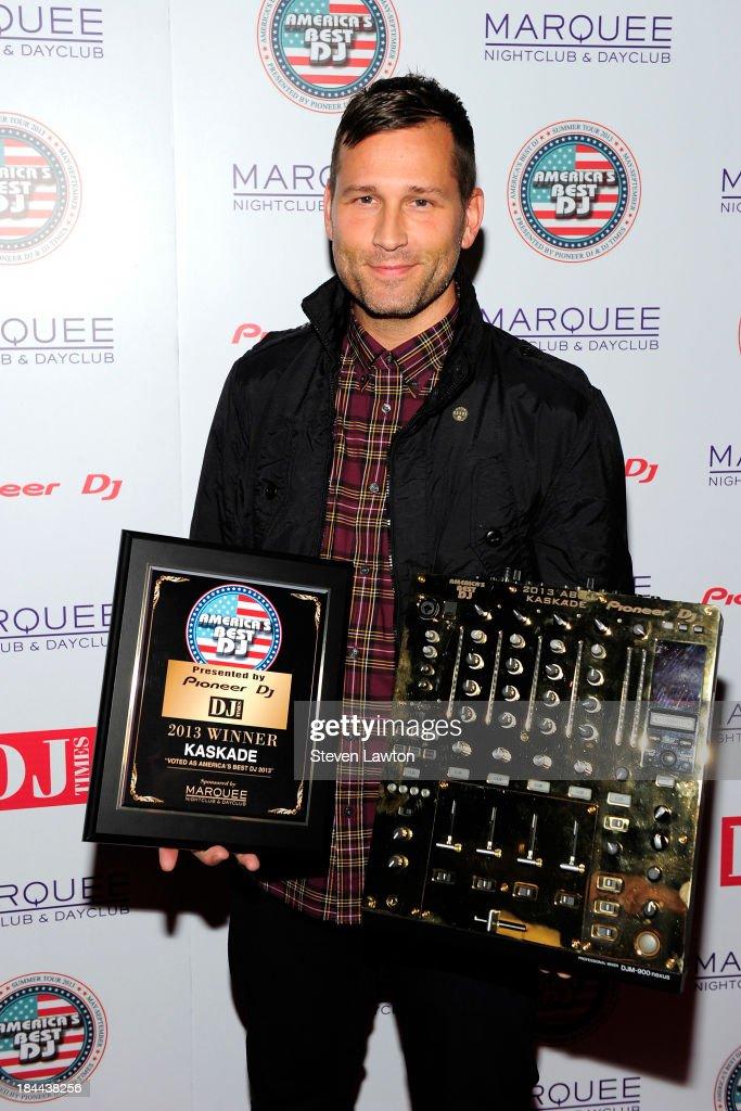 Kaskade Receives DJ Times' America's Best DJ For 2013 At Marquee Nightclub