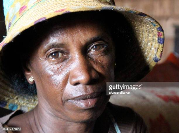 Kasoarimanana Bernadette whose daughter died of the plague is pictured in her home in the slum of Antananarivo Madagascar 16 June 2016 Photo Juergen...