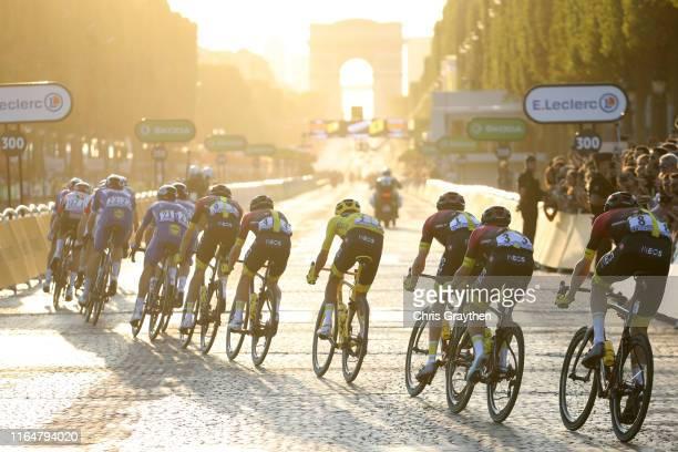Kasper Asgreen of Denmark and Team Deceuninck QuickStep / Julian Alaphilippe of France and Team Deceuninck QuickStep Most Combative Rider / Wout...