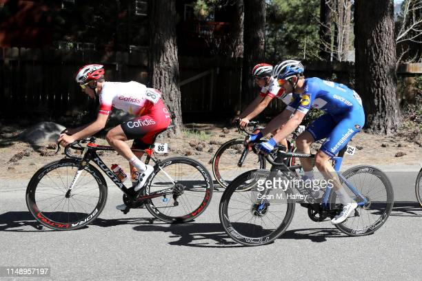 Kasper Asgreen of Denmark and Team Deceuninck - Quick-Step / Mathias Le Turnier of France and Team Cofidis Solutions Crédits / Christian Camilo Munoz...