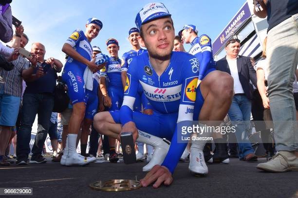 Kasper Asgreen of Denmark and Team Quick-Step Floors / during the 3rd Velon Hammer Series 2018, Stage 3 a 49,6km Team time trial stage from Tom...