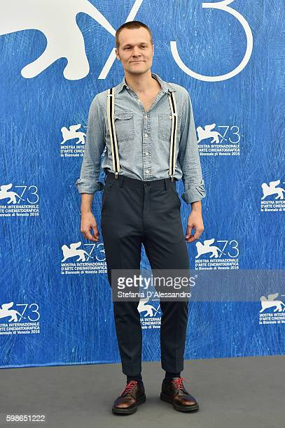 Kasper Collin attends a photocall for 'I Called Him Morgan' during the 73rd Venice Film Festival at on September 1 2016 in Venice Italy