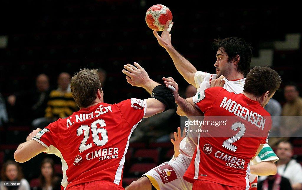 Denmark v Spain - Men's European Handball Championship 2010
