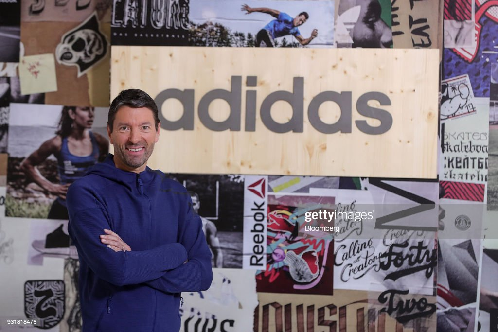 Adidas AG Chief Executive Officer Kasper Rorsted Announces Sales Growth At Annual Results Presentation