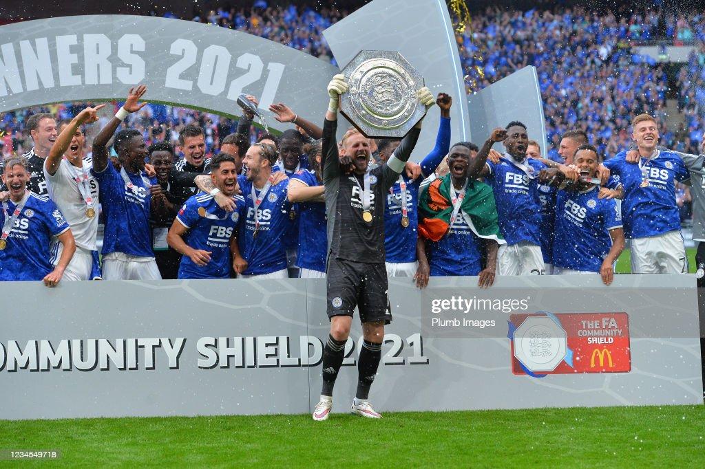 Manchester City v Leicester City - The FA Community Shield : Nachrichtenfoto