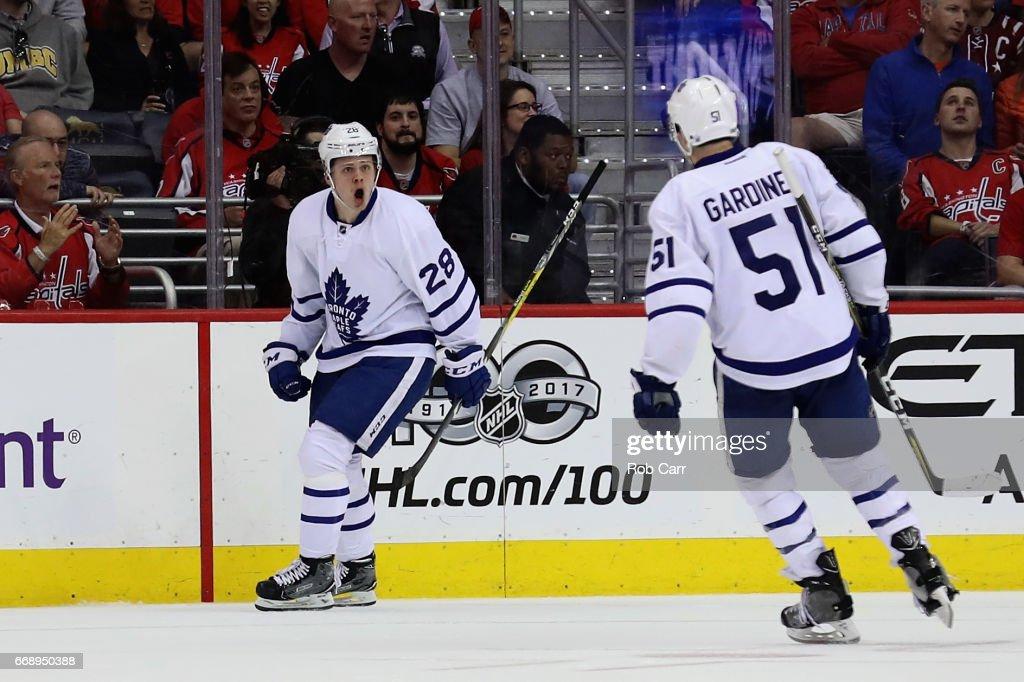Toronto Maple Leafs v Washington Capitals - Game Two : News Photo