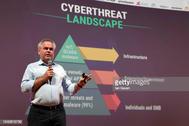 Kaspersky Lab CEO and Founder Eugene Kaspersky talks about ÒCybersecurity: The Next FrontierÓ at the Cybertech Europe 2018, the most significant...