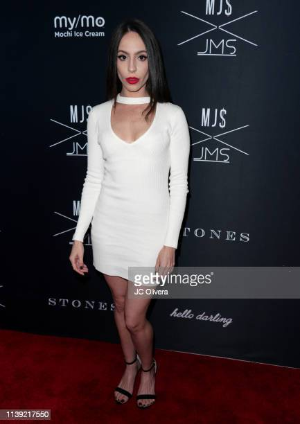 Kassandra Escandell attends Matt Sarafa and Jonathan Marc Stein's new 'Rich' clothing line release and fashion show on March 29 2019 in Los Angeles...