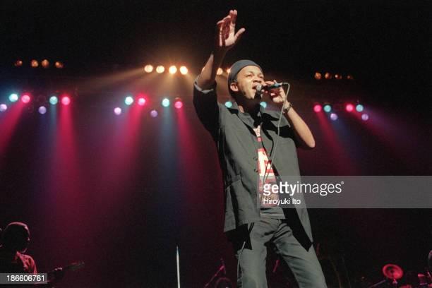 Kassav performing at Hammerstein Ballroom on Friday night July 23 1999This imagePatrick Saint Eloi