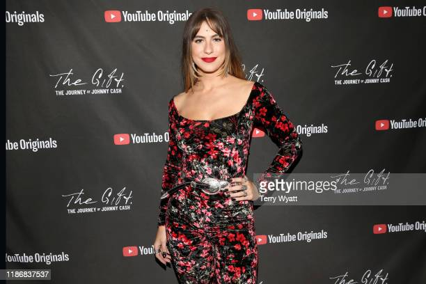 Kassi Ashton attends CASH FEST In Celebration Of YouTube Originals Documentary THE GIFT THE JOURNEY OF JOHNNY CASH at War Memorial Auditorium on...