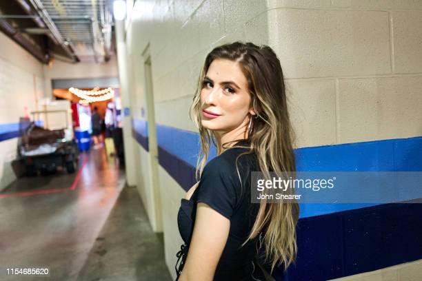 Kassi Ashton attends day 3 of the 2019 CMA Music Festival at Nissan Stadium on June 8 2019 in Nashville Tennessee