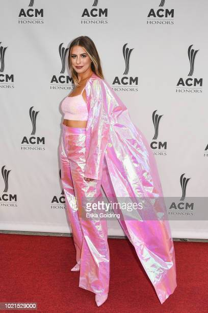 Kassi Ashton attends the 12th Annual ACM Honors at Ryman Auditorium on August 22 2018 in Nashville Tennessee