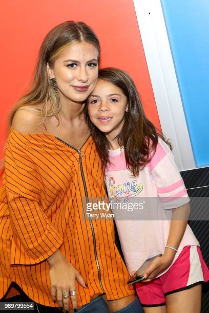 Kassi Ashton attends the Spotify's Music Streaming Lounge at Music City Convention Center on June 8 2018 in Nashville Tennessee