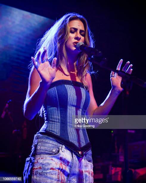 Kassi Ashton performs at Exit/In on November 11 2018 in Nashville Tennessee