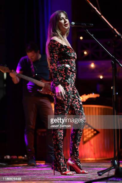 Kassi Ashton performs onstage at CASH FEST in celebration of YouTube originals documentary The Gift The Journey Of Johnny Cash on November 10 2019 in...