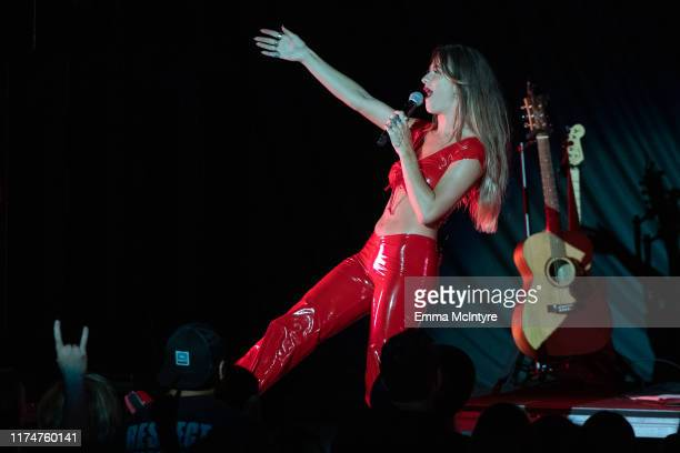 Kassi Ashton performs onstage at The Greek Theatre on September 14 2019 in Los Angeles California