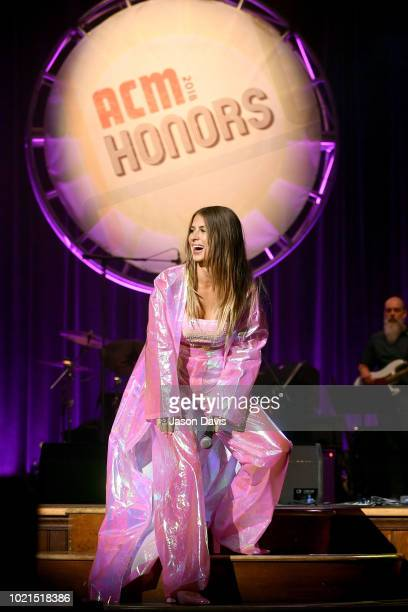 Kassi Ashton performs onstage during the 12th Annual ACM Honors at Ryman Auditorium on August 22 2018 in Nashville Tennessee
