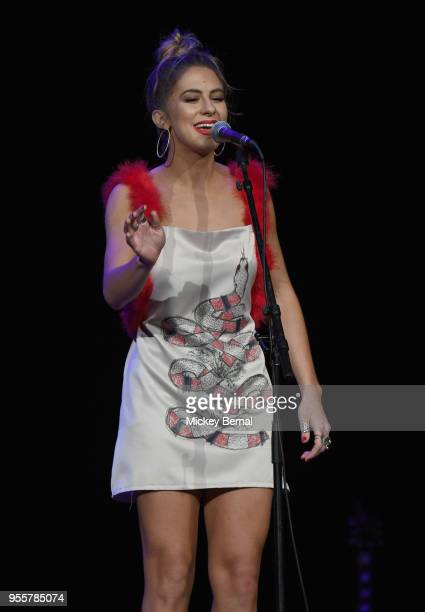 Kassi Ashton performs onstage during the 3rd Annual AIMP Awards at Ryman Auditorium on May 7 2018 in Nashville Tennessee