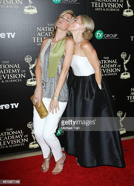 Kassie DePaiva and Melissa Reeves arrive at the 41st Annual Daytime Emmy Awards held at The Beverly Hilton Hotel on June 22 2014 in Beverly Hills...
