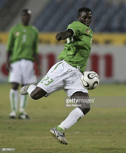 Kassim Guzayou of Togo during The African Cup of Nations Group B match between Angola and Togo at The Cairo International Stadium on January 29 2006...