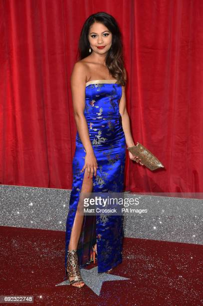 Kassius Nelson attending the British Soap Awards 2017 at The Lowry Salford Manchester PRESS ASSOCIATION Photo Picture date Saturday 3 June 2017 See...