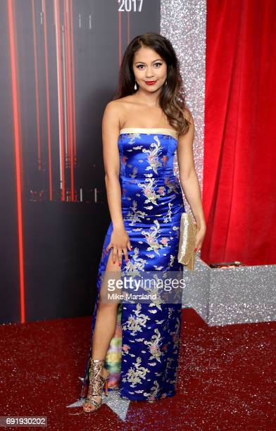 Kassius Nelson attends The British Soap Awards at The Lowry Theatre on June 3 2017 in Manchester England The British Soap Awards will be aired on...