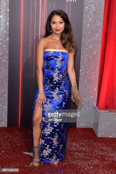 Kassius Nelson attends The British Soap Awards at The Lowry Theatre on June 3 2017 in Manchester England The Soap Awards will be aired on June 6 on...