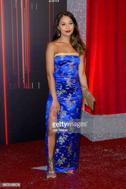 Kassius Nelson attends the British Soap Awards at The Lowry Theatre on June 3 2017 in Manchester England