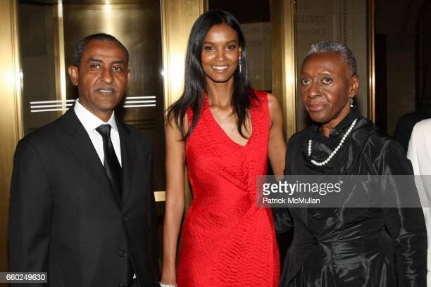 Kassy Kebede Liya Kebede and Beth Ann Hardison attend Celebrating Fashion Gala Awards Dinner to Support The GORDON PARKS Foundation at Gotham Hall on...