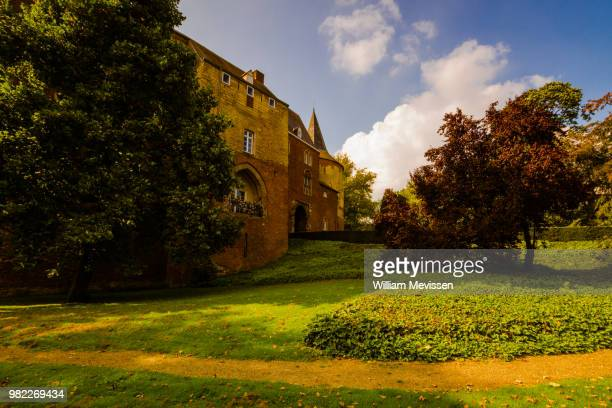 kasteel horn - william mevissen stock pictures, royalty-free photos & images