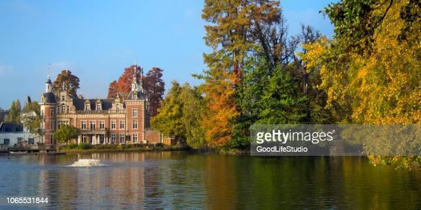 kasteel van huizingen - flanders belgium stock pictures, royalty-free photos & images